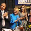 Frank and Jo Ann Wood, Pam and Matt Stanley, appauld after Shelley Moore Capito's speech during Beckley-Raleigh County Chamber of Commerce annual dinner held at the Beckley-Raleigh County Convention Center. Friday evening.<br /> Rick Barbero/The Register-Herald