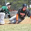 Fayetteville vs Richwood, during game at Huse Memorial Park in Fayetteville.<br /> Rick Barbero/The Register-Herald