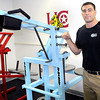 UC-Beckley's new strength coach Matt Morris has moved his new training business into Carter Hall on the UC-Beckley Campus. F. Brian Ferguson/The Register-Herald