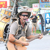 Marc Dobson, The One Man Band, performs at the West Virginia State in Fairlea.<br /> Rick Barbero/The Register-herald