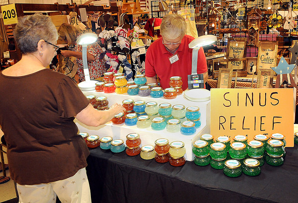 A little something for everyone was to be hadduring Friday's Appalachian Arts and Crafts festival at the Raleigh County Convention Center. F. Brian Ferguson