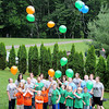 Balloon release to mark end of Camp Hope at The Cabins at Pine Haven in Beaver Beaver.<br /> Rick Barbero/The Register-Herald