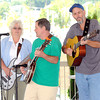 The Lost Cannon Bluegrass Band belted out the tunes at Jim Word Memorial Park during Friday in the Park. F. Brian Ferguson