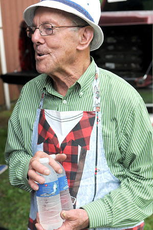 Lilly Family Reunion cook, Robert Earl has been to every Lilly Family Reunion. F. Brian Ferguson/The Register-Herald