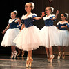 "Dancers perform during ""The Best Place to Celebrate Christmas"" persented by Karen's Academy of Dance Saturday night at the Woodrow Wilson Auditorium."