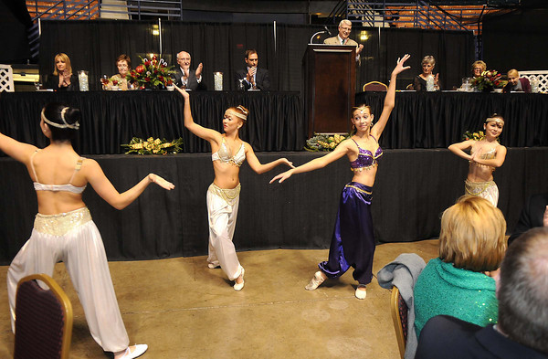 Dancers from the Beckley Dance Theatre performed during the YMCA of Southern West Virginia Spirit of Beckley Community Service Award Banquet.<br /> Rick Barbero/The Register-Herald