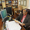 Dr. Faheem gives information about hoarding.<br /> Rick Barbero/The Register-Herald
