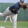 Wv tech pitcher Craig Johnson during Mondays game.