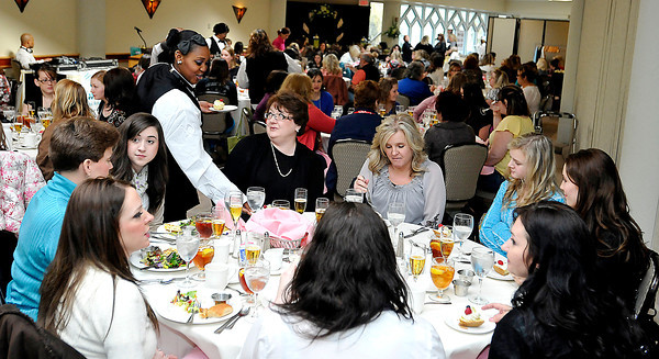 The Bridal,Prm and Special Occasions Show brunch at Tamarack on Saturday. Photo by Chris Tilley
