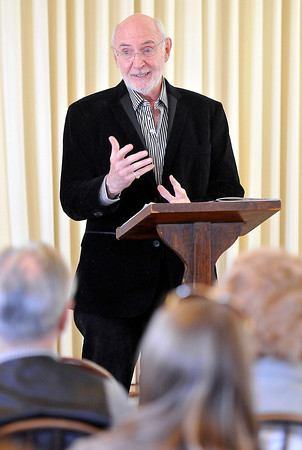 Jerry Rose, speaks during the Raleigh Count Historical Society meeting on Sunday at the Beckley Woman's Club. Photo by Chris Tilley