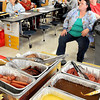F. BRIAN FERGUSON/THE REGISTER-HERALD=Raleigh County's Child Nutrition team held a food show on Monday morning at Beckley-Stratton Middle School in order for county school food service workers to get a first-hand taste test of new food items.