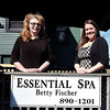 F. BRIAN FERGUSON/THE REGISTER-HERALD=Betty, left, and Aimee Fischer of Essential Spa .