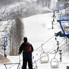Skiers at WinterPlace Ski Resort.<br /> Rick Barbero/The Register-Herald