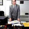F. BRIAN FERGUSON/THE REGISTER-HERALD=The new Chief of Detectives at the BPD, Mathew Montgomery.