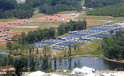 The Boy Scouts of America welcomes approximately 40,000 Scouts from across the nation to the expansive new Summit Bechtel Family National Scout Reserve in Mt. Hope, WV for the 2013 National Scout Jamboree. Rick Barbero/The Register-Herald