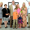 A $10,000 donation from L&S Toyota to United Way of Southern West Virginia, (from left), Margaret Ann O'Neal, Sherrie Hunter, the Ball family Shawn, Jonah, Laken, Adele, Angela, and Josh Jones of Hospice House. F. Brian Ferguson/The Register-Herald