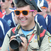 National Boy Scout Jamboree Saturday evening at the new Summit Bechtel Family National Scout Reserve near Glen Jean, WV<br /> Rick Barbero/The Register-Herald