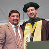 Photo Courtesy West Virginia School of Osteopathic Medicine<br /> Kyle Muscari, a new graduate of WVSOM, is one of a a long line of of doctors who attended the school, including his father, XXXX Muscari, D.O., right