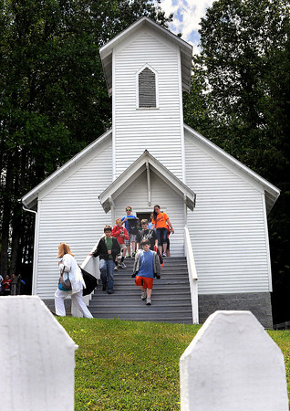 Field Trip=Students from Raleigh, Lincoln, and Wood counties take in a Wednesday field trip as learn about the ways of the past while touring tour the Coal Camp Church at the Beckley Exhibition Coal Mine. F. Brian Ferguson