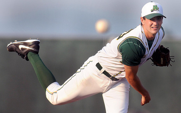 West Virginia Miners pitcher #20 delievers Tuesday evening. F. Brian Ferguson/The Register-Herald