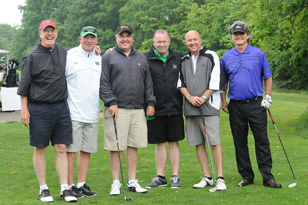 15th hole at Grandview Country Club during the Big Green golf outing.<br /> Rick Barbero/The Register-Herald