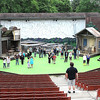 Theatre WV actors rehearse at Grandview State Park for the Hatfield's and McCoys's Musical.<br /> Rick Barbero/The Register-Herald