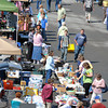 Saturday's warm weather brought out shoppers by the numbers during the NIE Auction and Flee Market at the Beckley Galleria. F. Brian Ferguson/The Register-Herald