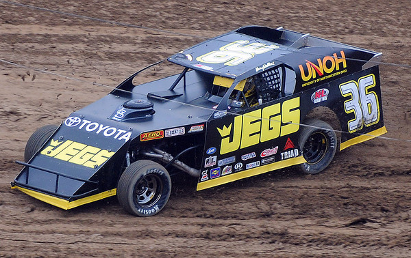 Nascar Racer Kenny Wallace took to the dirt track of the Beckley Motorsports Park on Friday evening. F. Brian Ferguson/The Register-Herald