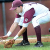 Woodrow Wilson third baseman Brent Osborne field a ground ball cleanly against Riverside during Thursday evening action in Beckley. F. Brian Ferguson/The Register-Herald
