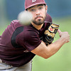 Woodrow Wilson's Pitcher #7 delievers against Shady Spring during Friday afternoon action in Shady Spring. F. Brian Ferguson/The Register-Herald