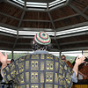 Liberty High School's World Percussion band , under the lead of Jeremy Rodriquez, entertains their audience at Word Park during Saturday's Raleigh County Schools Day of the Arts F. Brian Ferguson/The Register Herald