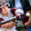 Woodrow Wilson's Cole Williams attempts to lay down a bunt during Thursday's game against Oak Hill, held at Shady Spring.F. Brian Ferguson/The Register Herald