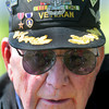 Korean and Vietnam War Veteran Roy Teague, 83, of Lillybrook, paid a visit to the American Legion Cemetary on South Kanawha Street in Beckley on Veterans Day to pay tribute to his fellow Veterans. Teague proudly serevd his country for 27 years . F. Brian Ferguson/The Register-Herald