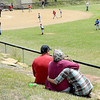 F. BRIAN FERGUSON/THE REGISTER-HERALD=Fans enjoyed a nice day to take in  Saturday's Opening Day of Sophia Little League.