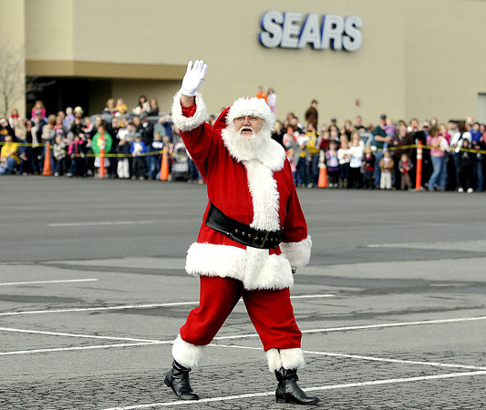 Santa touched down at the Crossroads Mall on Saturday morning as a large group of children and their parents were in attendance for his annual visit. F. Brian Ferguson/The Register-Herald