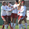 Pikeview vs Bridgeport in the class AA-A girls soccer semi-final match held at the YMCA Youth Sports Complex in Beckley Friday morning.<br /> Rick Barbero/The Register-Herald