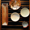 Just some of Jeff Dieh's prized pieces that will be on display on Saturday, as part of his annual Thanksgiving pottery show,at the Beckley Women's Club on Park Avenue in Beckley F. Brian Ferguson/The Register-Herald