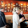 Monday marked the official opening of Qdoba Mexican Grill in the Galleria, (from lefta), Gary Hartley, Denise Southern, and Ellen Taylor, check out the interior. F. Brian Ferguson/The Register-Herald