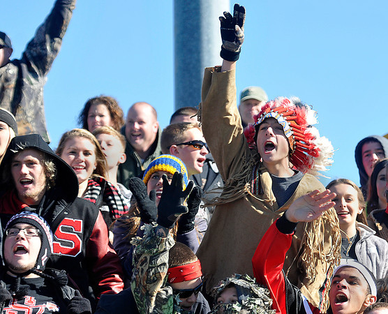 The Sissonville fans cheered on their Lady Indians as they won the AA/A state Soccer Championship game on Saturday in Beckley. F. Brian Ferguson/The Register-Herald