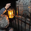 John Luckton's looks at the grave of John Beckley at the Wildwood Cemetery  F. Brian Ferguson/The Register-Herald