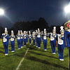 Shady Spring performs before game against Oak Hill Friday night on H.B. Thomas Field at Shady Spring High School<br /> Rick Barbero/The Register-Herald