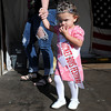The Tiny Miss Rocket Boy Festival Queen, Kaydence Sizemore, of Sophia makes her way onto stage during Saturdays Rocket Boy Festival at the Beckley Exhibition Coal Mine.. F. Brian Ferguson/The Register-Herald