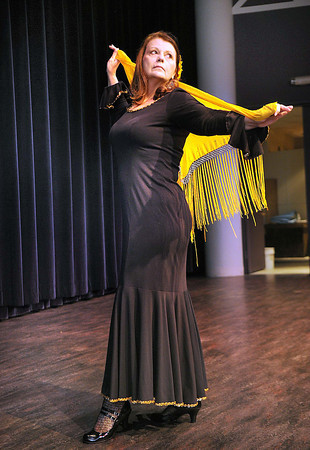 Carolyn DiLorenzo, she started dancing after she survived breast cancer.<br /> Rick Barbero/The Register-Herald