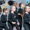 The Harmony in Motion Dance Class from the School of Harmony took to the streets during Friday's Homecoming parade in Shady Spring. F. Brian Ferguson/The Register-Herald