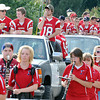 The Independence High School Football team showed their colors during Thursday's homecoming parade in Sophia. F. Brian Ferguson/The Register-Herald