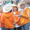 A group of Tennessee Volunteers made the trip to the Taste of our Town festival in Lewisburg on Saturday. F. Brian Ferguson/The Register-Herald