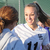 Lyndsey Thompson, of Shady Spring, scored her record breaking  goal against Oak Hill Monday night at the Paul Cline Memorial Youth Sports Complex in Beckley. She broke a State record for the most goals scored .<br /> Rick Barbero/The Register-Herald