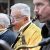 West Virginia Jazz Orchestra members James Fleming, center, and Burch Graves, right, provide the sound to the Taste of our Town festival in Lewisburg on Saturday. F. Brian Ferguson/The Register-Herald