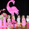 Contestants from the 4 year-old division of the Pretty in Pink Pageant line the stage of the Woodrow Wilson auditorium on Saturday afternoon. F. Brian Ferguson/The Register-Herald