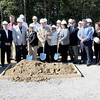 Analabs expansion groundbreaking was held at their Crab Orchard location at 196 Dayton Street on Tuesday morning. (From left with shovels), Kelli Harris, Charlie Thompson, Linda Thompson, and Annissa Reiger. F. Brian Ferguson/The Register-Herald